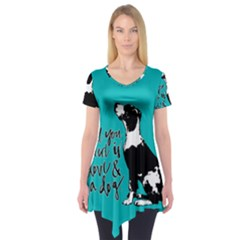 Dog person Short Sleeve Tunic
