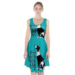 Dog person Racerback Midi Dress