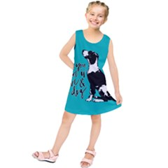 Dog person Kids  Tunic Dress
