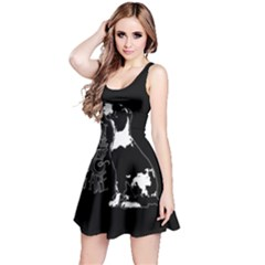 Dog person Reversible Sleeveless Dress