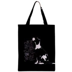 Dog person Zipper Classic Tote Bag