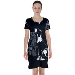 Dog person Short Sleeve Nightdress