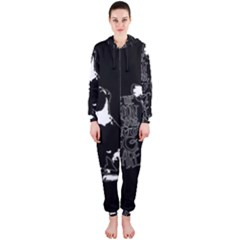 Dog person Hooded Jumpsuit (Ladies)