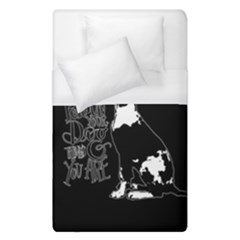 Dog person Duvet Cover (Single Size)