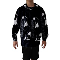 Dog person Hooded Wind Breaker (Kids)