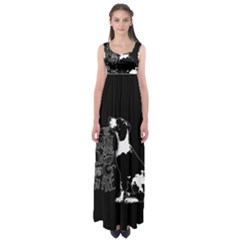 Dog person Empire Waist Maxi Dress