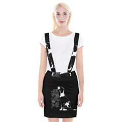 Dog person Suspender Skirt