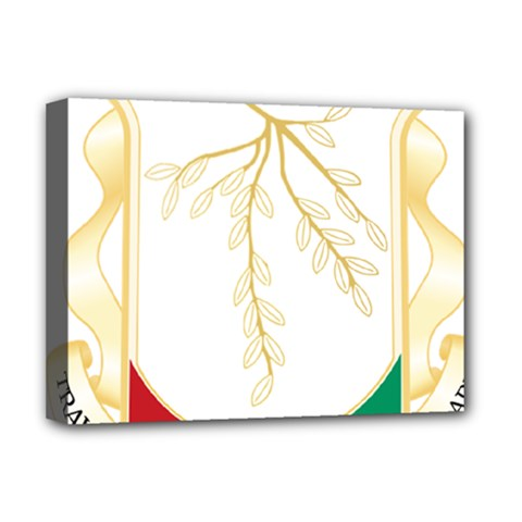 Coat of Arms of Republic of Guinea  Deluxe Canvas 16  x 12