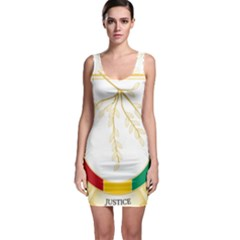 Coat of Arms of Republic of Guinea  Sleeveless Bodycon Dress