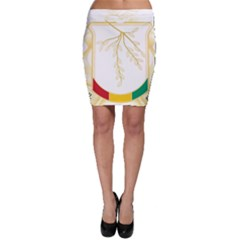 Coat of Arms of Republic of Guinea  Bodycon Skirt