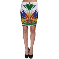 Coat of Arms of Haiti Bodycon Skirt