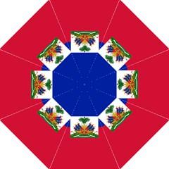 Flag of Haiti  Folding Umbrellas