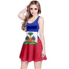 Flag of Haiti  Reversible Sleeveless Dress