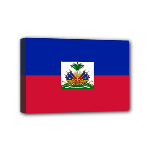 Flag of Haiti Mini Canvas 6  x 4