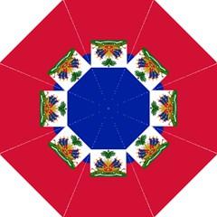 Flag of Haiti Golf Umbrellas