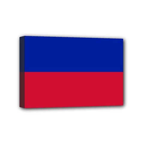 Civil Flag of Haiti (Without Coat of Arms) Mini Canvas 6  x 4