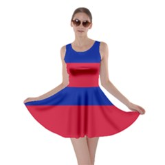 Civil Flag of Haiti (Without Coat of Arms) Skater Dress