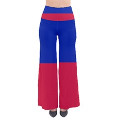 Civil Flag of Haiti (Without Coat of Arms) Pants