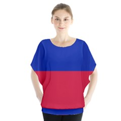 Civil Flag of Haiti (Without Coat of Arms) Blouse