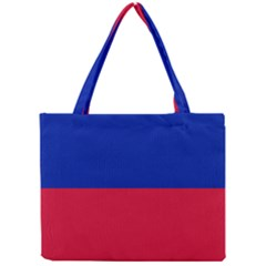 Civil Flag of Haiti (Without Coat of Arms) Mini Tote Bag