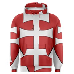 Coat of Arms of Apostolic Kingdom of Hungary, 1172-1196 Men s Pullover Hoodie