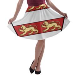 Hungarian Kings (1000-1301) & Seal of King Emeric (1202) A-line Skater Skirt