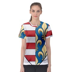 Angevins Dynasty of Hungary Coat of Arms Women s Sport Mesh Tee
