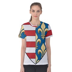 Angevins Dynasty of Hungary Coat of Arms Women s Cotton Tee