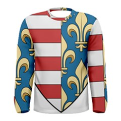 Angevins Dynasty of Hungary Coat of Arms Men s Long Sleeve Tee