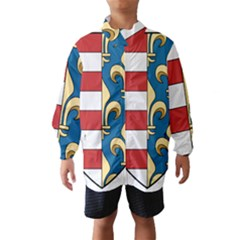 Angevins Dynasty of Hungary Coat of Arms Wind Breaker (Kids)