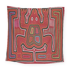 Frog Pattern Square Tapestry (large)