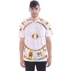Zodiac Institute Of Vedic Astrology Men s Sport Mesh Tee