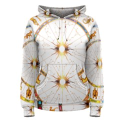 Zodiac Institute Of Vedic Astrology Women s Pullover Hoodie