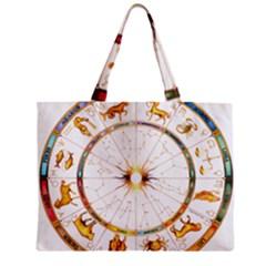 Zodiac Institute Of Vedic Astrology Zipper Mini Tote Bag