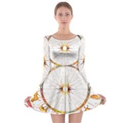 Zodiac Institute Of Vedic Astrology Long Sleeve Skater Dress