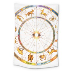 Zodiac Institute Of Vedic Astrology Large Tapestry