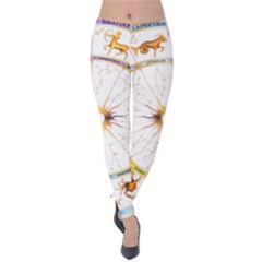 Zodiac Institute Of Vedic Astrology Velvet Leggings