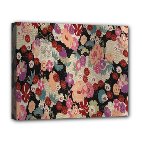 Japanese Ethnic Pattern Deluxe Canvas 20  X 16