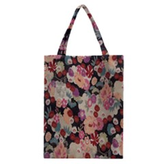 Japanese Ethnic Pattern Classic Tote Bag