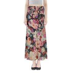 Japanese Ethnic Pattern Maxi Skirts
