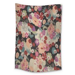 Japanese Ethnic Pattern Large Tapestry