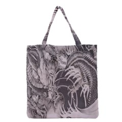Chinese Dragon Tattoo Grocery Tote Bag