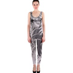 Chinese Dragon Tattoo OnePiece Catsuit