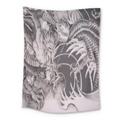 Chinese Dragon Tattoo Medium Tapestry