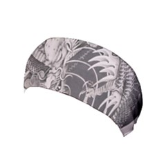 Chinese Dragon Tattoo Yoga Headband