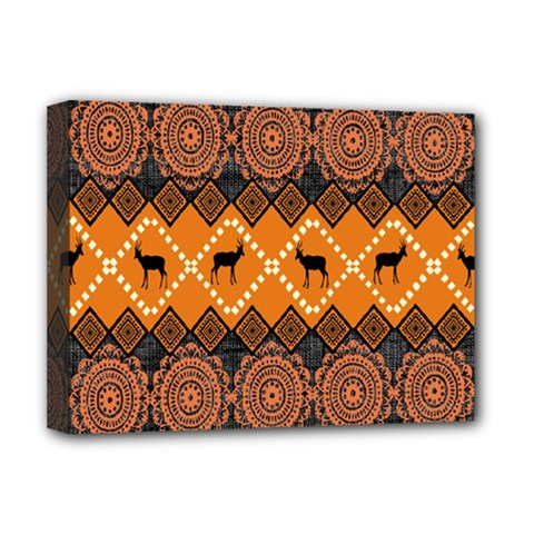 Traditiona  Patterns And African Patterns Deluxe Canvas 16  x 12