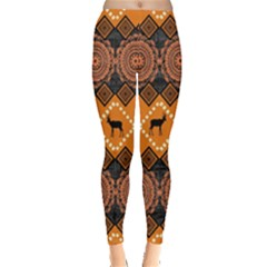Traditiona  Patterns And African Patterns Leggings