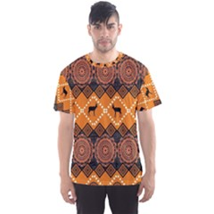 Traditiona  Patterns And African Patterns Men s Sport Mesh Tee