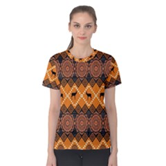 Traditiona  Patterns And African Patterns Women s Cotton Tee