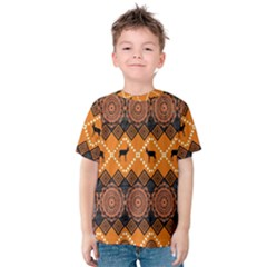 Traditiona  Patterns And African Patterns Kids  Cotton Tee
